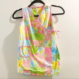 Vintage Lilly Pulitzer Girls Size 6 Wrap Dress